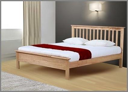 Pentre Double Wooden Bedframe