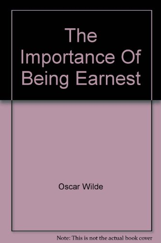 character analysis of lane in the importance of being earnest by oscar wilde The preoccupation with food in oscar wilde's the  the use of this and other food in oscar wilde's the importance of being earnest may seem  lane yes, sir.