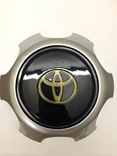 ONE PIECE ONLY 1990-1998 Toyota Land Cruiser Fj80 Center Alloy Wheel Hub Caps Black TOP (Cruiser Alloy Wheel Center Cap compare prices)