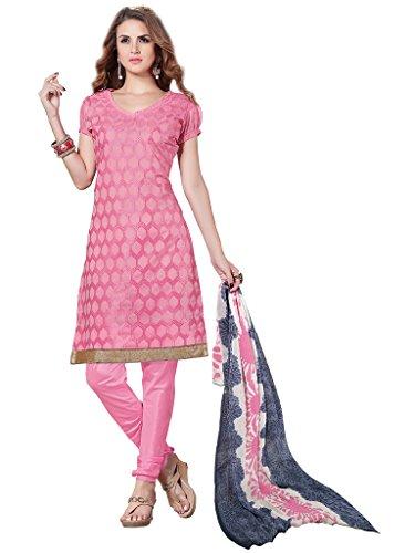 e6cc720ca82 Prachi Silk Mills Georgette Embroidered Semi-stitched Salwar Suit ...