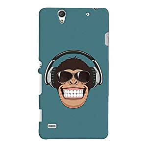ColourCrust Sony Xperia C4 / Dual Sim Mobile Phone Back Cover With Music Lover Quirky Style - Durable Matte Finish Hard Plastic Slim Case