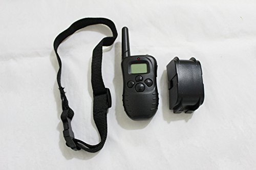 Dx(Hk) Remote Pet Trainer Lcd Display Dog Electric Training Collar For 2 Dogs With 100Lv Of Shock And Vibration,Waterproof