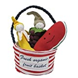 Under The Nile Organic Cotton Tote, Stuffed Multi Fruit