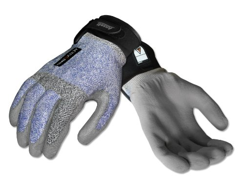 Ansell Activarmr 97-001 Dyneema Electrician Glove, Adjustable Cuff, Large (Pack Of 1 Pair)