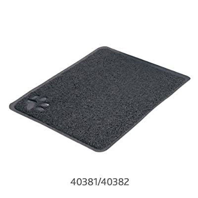 Cat Litter tray mat PVC pad stop slipping and mess 2 sizes