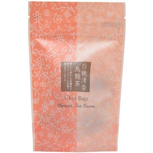 山陽 白桃清香烏龍茶 TB 2g×5P