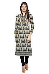 Riddhi Dresses Women's Cotton Unstitched kurti (Riddhi Dresses 34_Multi Coloured_Free Size)