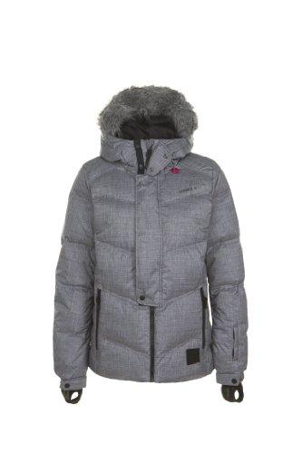 O'Neill Damen Snow Jacke PWFR New Rideable Down, Black Out, XL, 355025