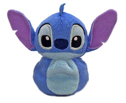 [Japan Disney Official Lilo & Stitch - Potepote Otedama Character Mascot Series Blue Soft Plush Stuffed Toy Cushion Kids Doll Bean Plushie House Table Decor] (Minnie Mouse Nose)