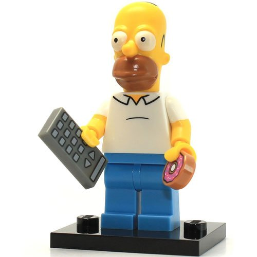 Lego 71005 The Simpson Series Homer Simpson Character Minifigures - 1