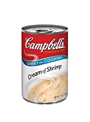 Campbell's Red and White Cream Of Shrimp Soup, 10.75-Ounce Cans (Pack of 12)