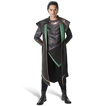 "Official Marvel Loki from Thor 2 Mens Superhero Fancy Dress Costume - Standard - 38""-42"""