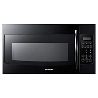 Samsung SMH1816 1.8 Cu. Ft. Over the Range Microwave with Sensor Cooking, Black