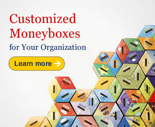 Customized Moneyboxes
