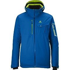 Buy Salomon Mens Contest Jacket, Size Large, Union Blue by Salomon