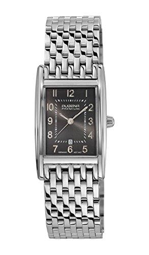 Dugena Dugena Premium 7000126 - Reloj analógico de cuarzo para mujer, correa de acero inoxidable color plateado