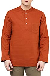 Indus Route by Pantaloons Men's Cotton Kurta 205000005651014_ Size_Small