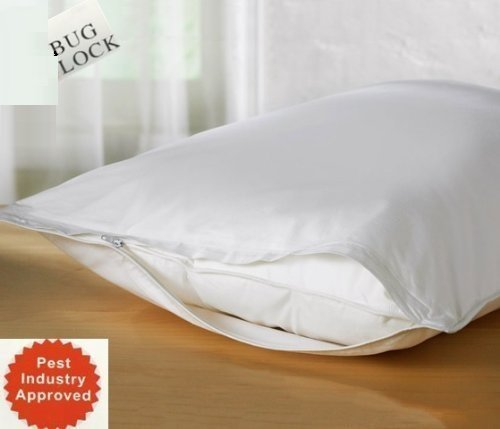 For Sale! Premium BED Bugs Pillow Protector a Set of 2 Pillow Protectors - Lifetime Warranty (Queen ...