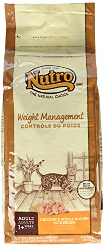 Nutro Weight Management Adult Cat Chicken & Whole Brown Rice Recipe