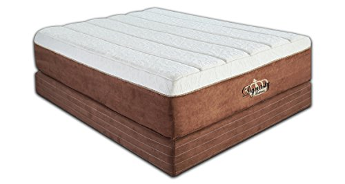 DynastyMattress NEW Luxury Grand 15-Inch with 7.5-Inch Memory Foam Mattress, Queen Size