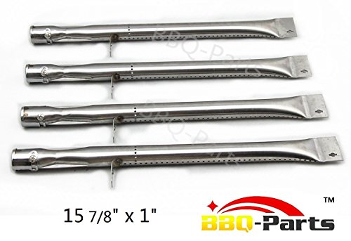 bbq-parts SBD331 (4-pack) Universal Stainless Steel Burner Replacement for Gas Grill Model Stok SGP4330SB (15 7/8
