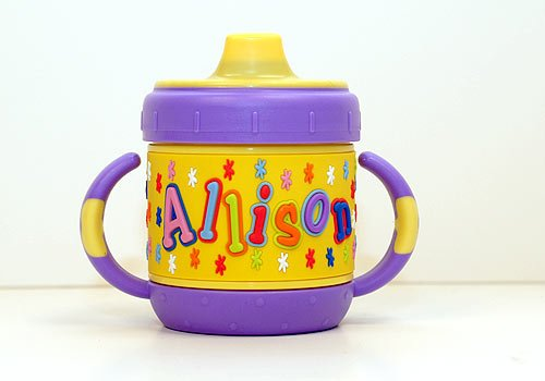Personalized Sippy Cup: Allison front-675535