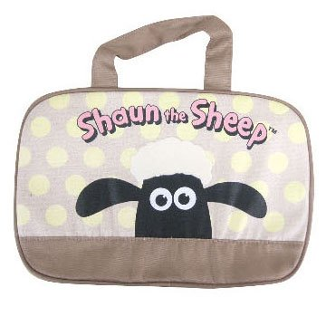 ひつじのショーン ランチボストンバッグ ドット柄 Shaun the Sheep