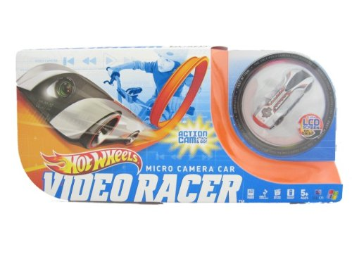 Hot Wheels Video Racer Micro Camera Car - Red