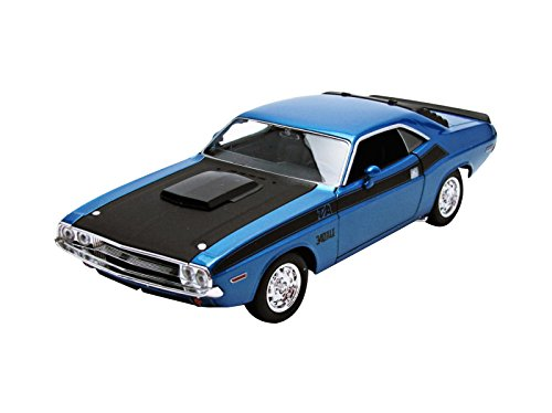 welly-24029bl-dodge-challenger-t-a-escala-1-24