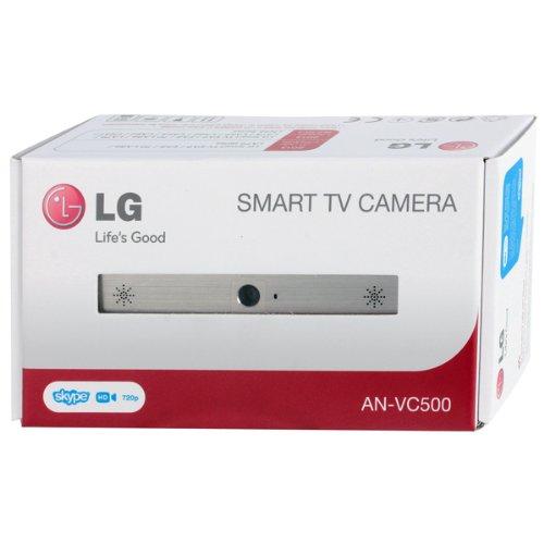 New LG AN-VC500 Camera- Follow up ANVC400 (112mm x 56mm x 38mm, silver black)