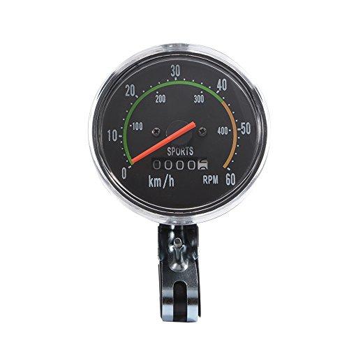 XCSOURCE-Fahrrad-Wegmesser-Kilometerzhler-Stoppuhr-Radfahren-Klassik-mechanisch-Tachometer-Uhr-Wasserdicht-CS341