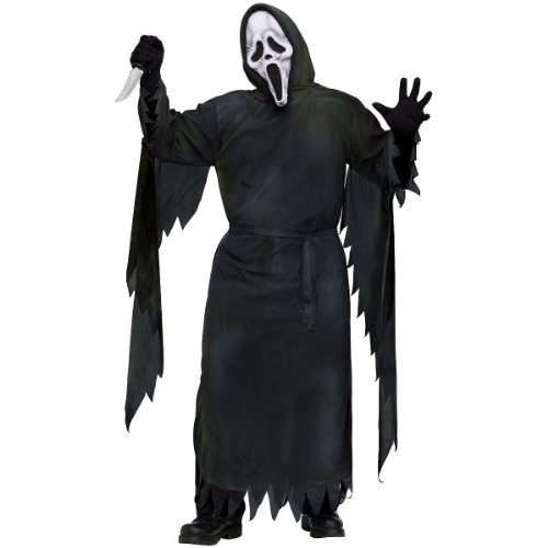 Mummy Ghost Face Costume - Standard - Chest Size 33-45