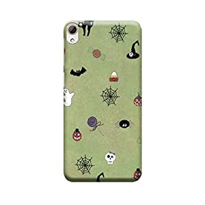 Digi Fashion Designer Back Cover with direct 3D sublimation printing for HTC Desire 826