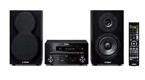 Yamaha MCR-750 BLBL Micro chaîne Blu-ray Technologie Air Surround Extreme Port USB Certifié DLNA 1.5 Noir