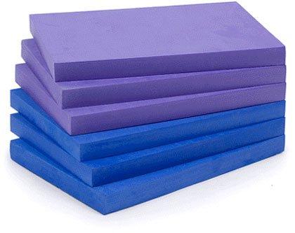 YogaAccessories (TM) 1' Foam Yoga Brick