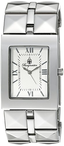 Burgmeister Venus Bm501-401 Ladies Analogue Quartz Wristwatch Silver