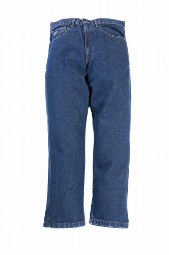 LAPCO P-IND-37X32 13-Ounce 100-Percent Cotton Flame Resistant Denim Jean Blue, 37x32 Inch