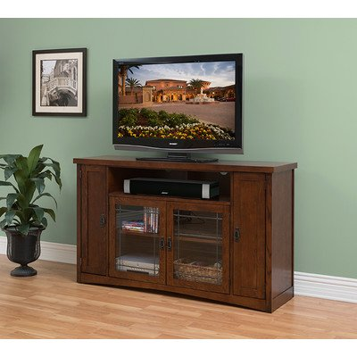 "Mission Pasadena 36"" Tall Tv Console"