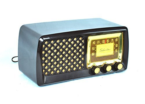Working Antique Vintage 1952 Silvertone AM Radio 0