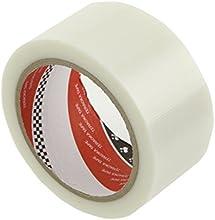 ライオン事務器 包装用テープ P-カットテープ 50mm×25m No.4102 透明