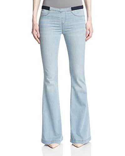 BLANKNYC Women's Pull-On Bell Jean