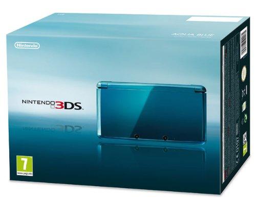 Nintendo 3DS - Console, Aqua Blue