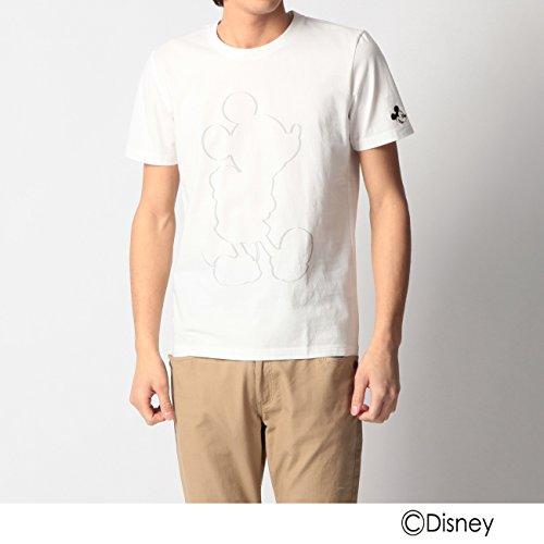 (ボイコット)BOYCOTT ツイスト天竺プリントTシャツ(ミッキーマウス) ホワイト(001) 02(M)