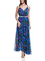 Tantra Vestido Largo Long Flower Print (Azul)