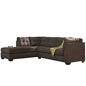 Flash furniture benchcraft maier sectional for Amazon sectional sofa with chaise