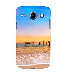 PrintVisa Travel Beach Sunset Design 3D Hard Polycarbonate Designer Back Case Cover for Samsung Galaxy Core i8262
