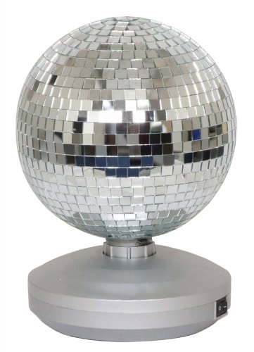 """Electrovision Ltd 8"""" Free Standing Mirror Ball Dance Party Set"""