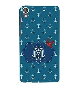 EPICCASE anchor of M Mobile Back Case Cover For HTC Desire 820 (Designer Case)