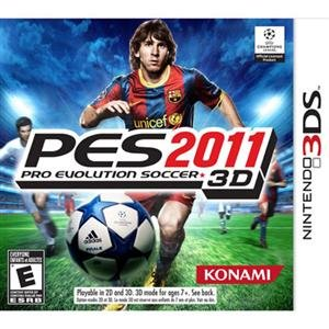 NEW Pro Evolution Soccer 2011 3DS (Videogame Software) - 1
