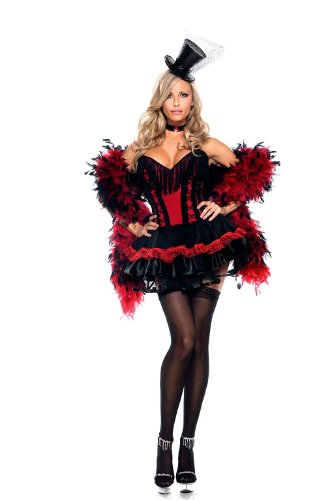 "Be Wicked BW1060, 2 piece ""Speak Easy Saloon Girl"" Costume."